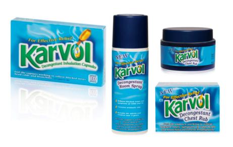 Win Karvol products on Baby Bugs 'n Berries